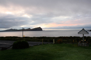 Dingle Seafood Restaurant - View of Smerwick Harbour at Dusk from the Old Pier Dingle BnB